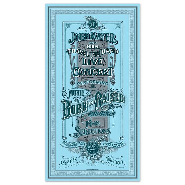 John Mayer Philadelphia Event Poster