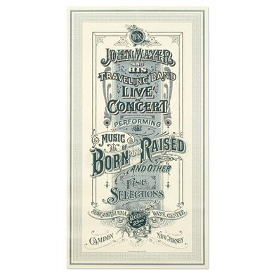 John Mayer Philadelphia Event Poster