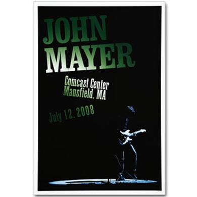 John Mayer - Boston 2008 Tour Poster