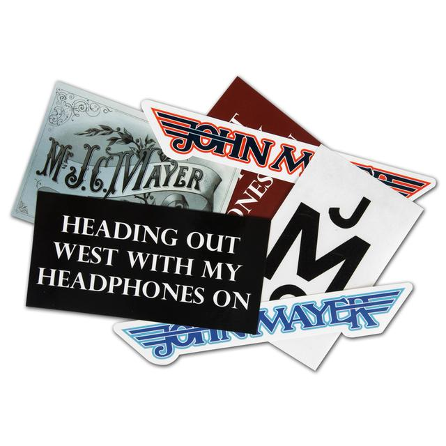 John Mayer JM Sticker Pack