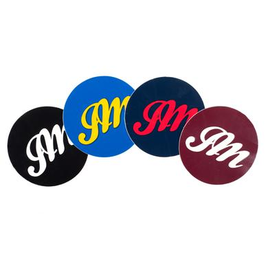 John Mayer Circle JM Script Sticker