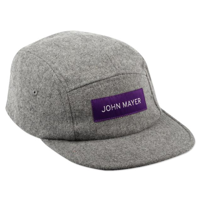 John Mayer Camp Hat (Grey Wool)