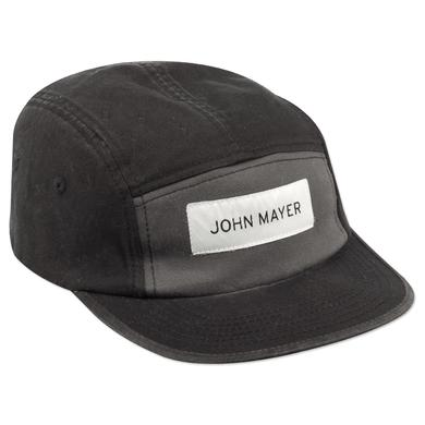John Mayer Camp Hat (Black Colorblock)