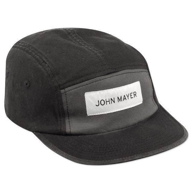John Mayer Camp Hat (Black Colorblock)