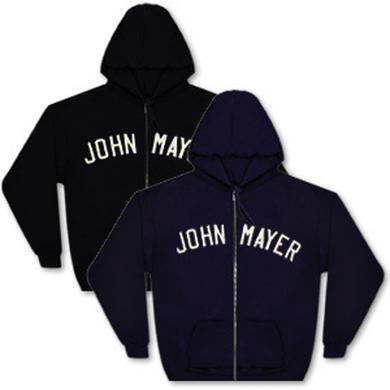 John Mayer Zip Hoodie
