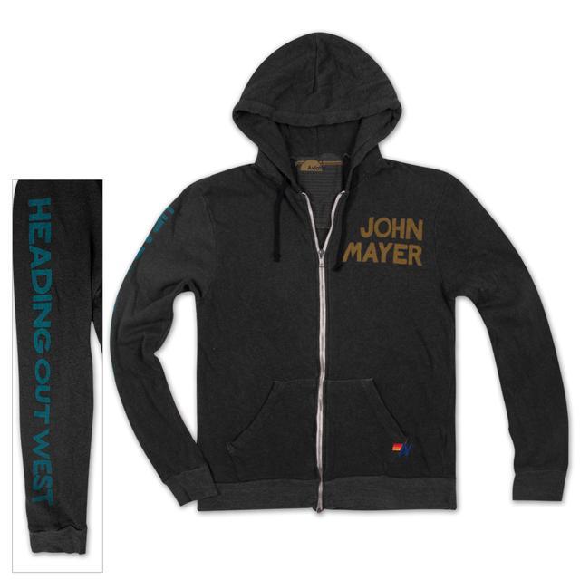 John Mayer JM x Aviator Nation Zip Hoodie