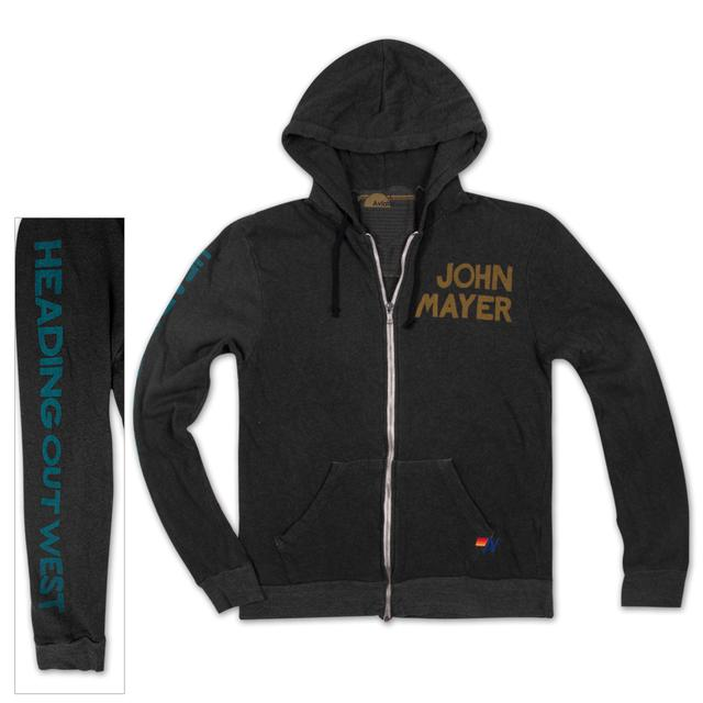 John Mayer JM x Aviator Nation Zip Hoodie