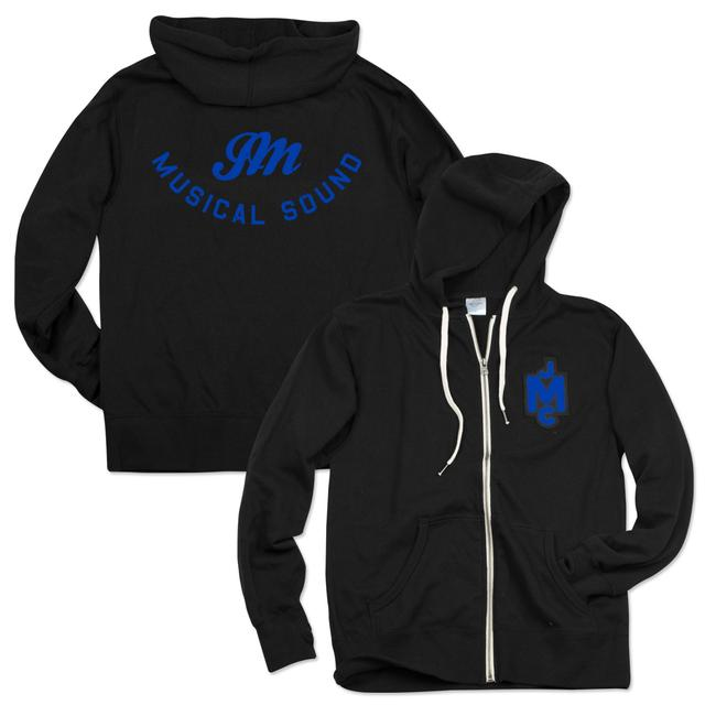John Mayer JCM French Terry Hoodie - Blue Logo