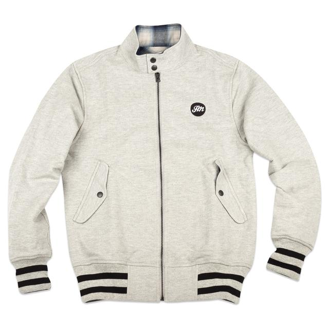 John Mayer Reigning Champ Herringbone Fleece Barracuda Jacket