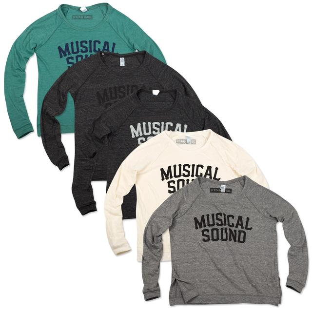 John Mayer Musical Sound Women's Raglan Pullovers