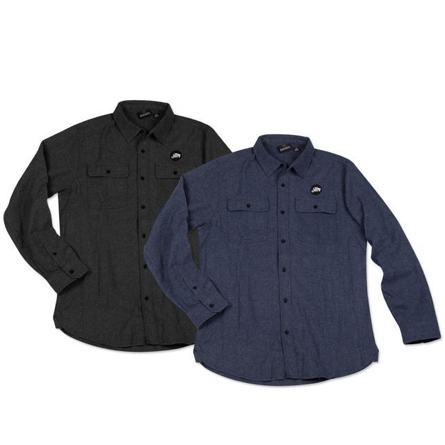 John Mayer Solid Flannel Shirt