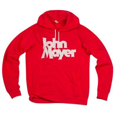 John Mayer Bold Serif Pullover Hoodie
