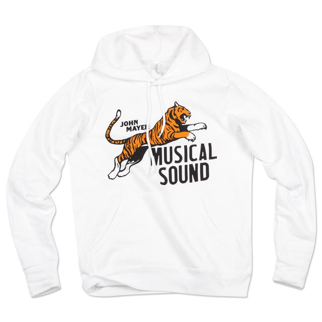 John Mayer Musical Sound Tiger Hoodie