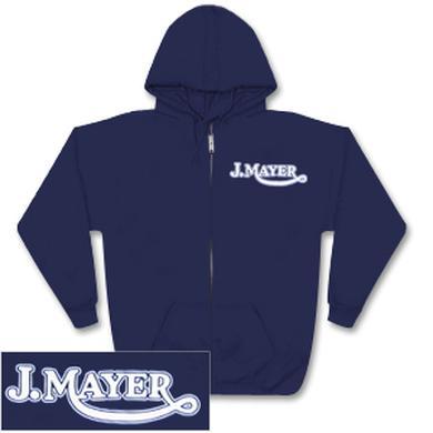 John Mayer Vintage Logo Zip Hoodie