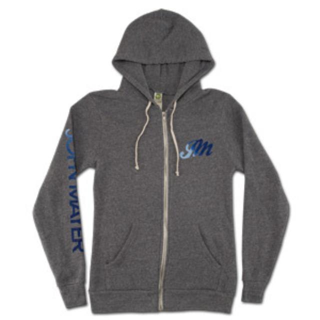 John Mayer - 2008 Heather Grey Zip Hoodie