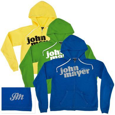 John Mayer - Midweight Custom JM Zip Hoodie