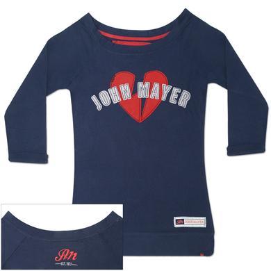 John Mayer Womens Jersey Boatneck