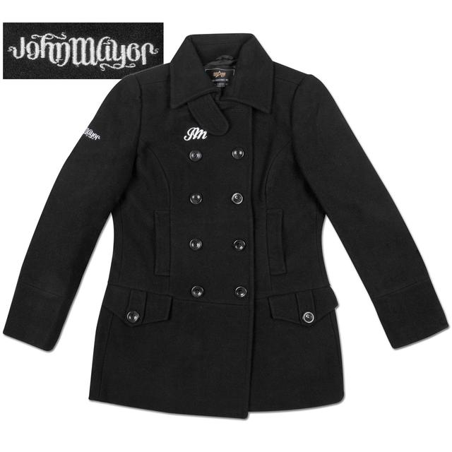John Mayer Ladies Ambigram Peacoat