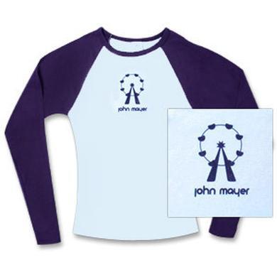 John Mayer - Ladies Baseball T-Shirt