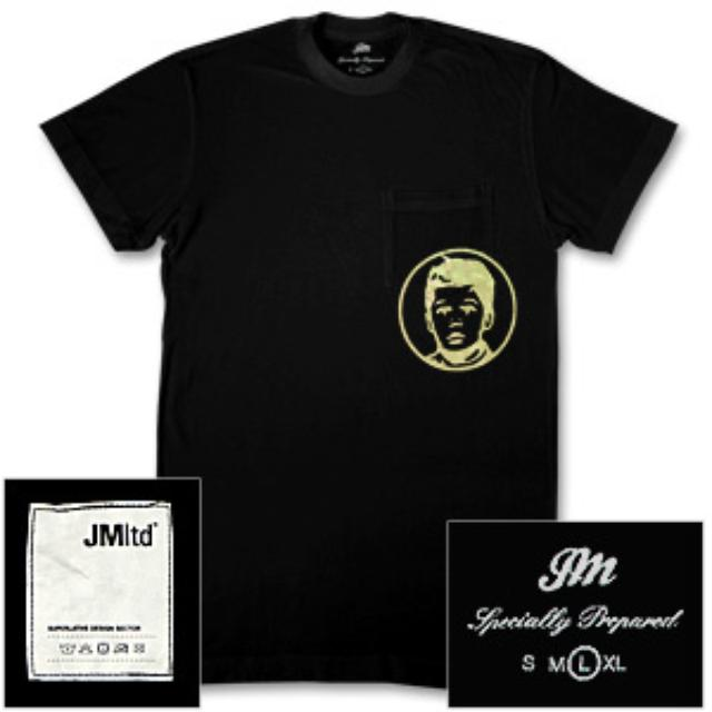 John Mayer - Gold Foil Kid's Face Pocket T-Shirt