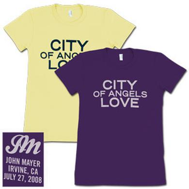 John Mayer - CITY of Angels LOVE (Los Angeles) Girls T-Shirt