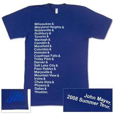 John Mayer - Women's Summer 2008 Cities T-Shirt