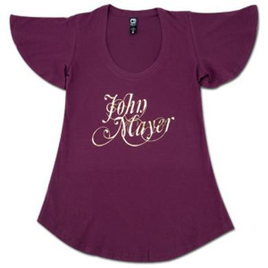 John Mayer - Girls Cursive Foil Shirt