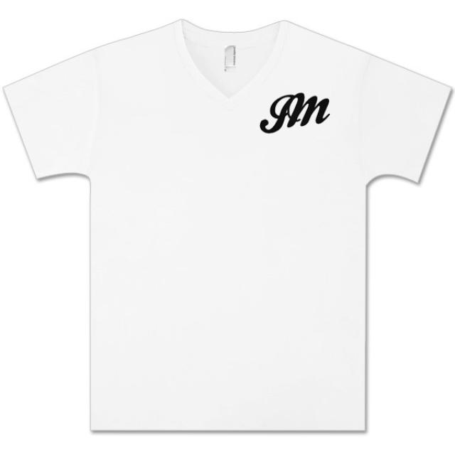 JM Script John Mayer V-Neck T-Shirt