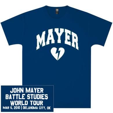 Unisex Oklahoma City, OK John Mayer T-Shirt