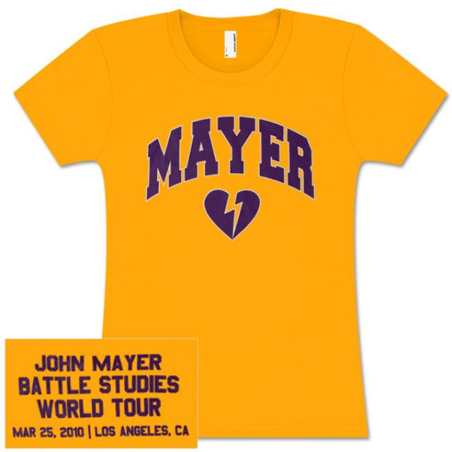 John Mayer Womens Los Angeles, CA Event T-shirt