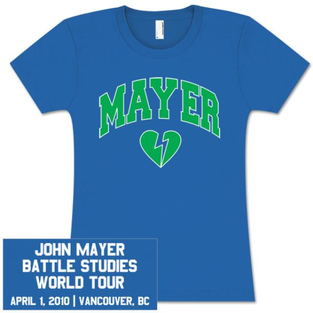 John Mayer Womens Vancouver Event T-Shirt