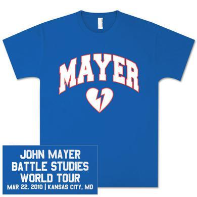 John Mayer Unisex Kansas City, MO Event T-shirt