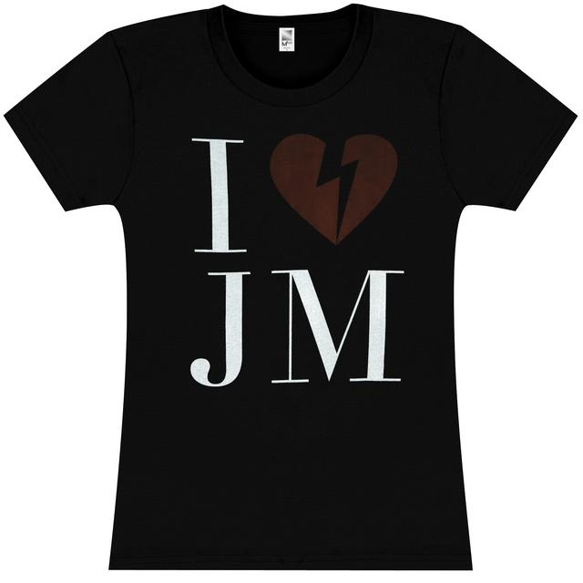 John Mayer Womens I <3 JM T-Shirt