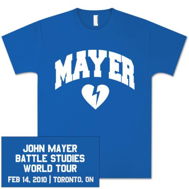 John Mayer Unisex Toronto Event T-Shirt