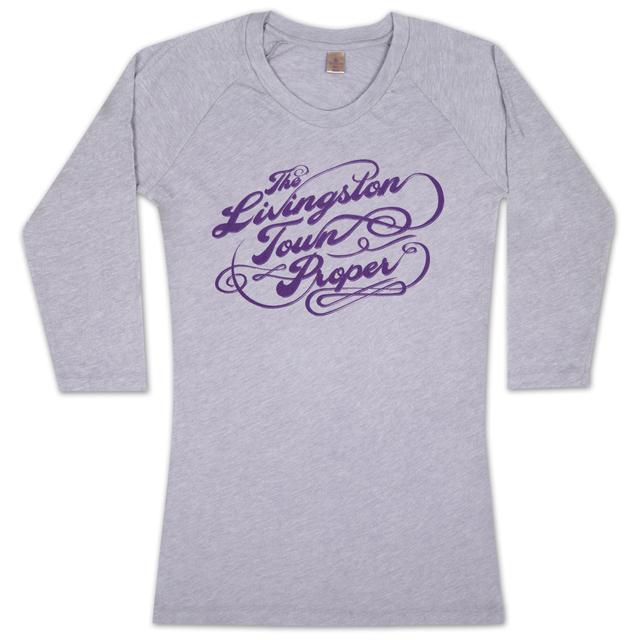 """John Mayer """"Livingston Town Proper"""" Women's 3/4 Henley"""
