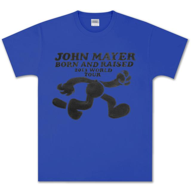 John Mayer Felix the Cat World Tour T-shirt