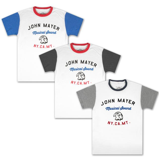 John Mayer Musical Sound Eagle T-shirt