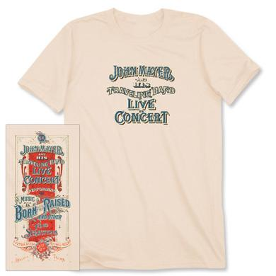 John Mayer Houston Event T-shirt