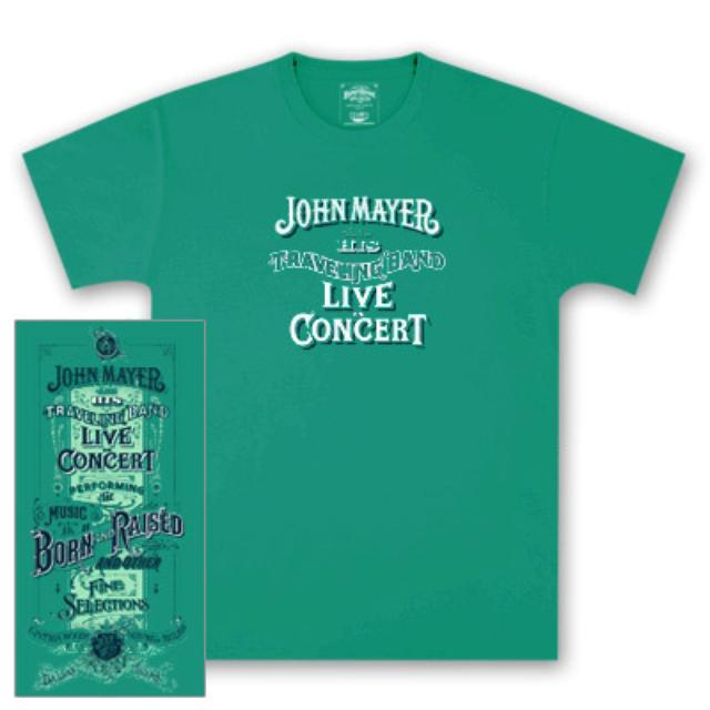 John Mayer Dallas Event T-shirt