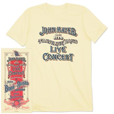John Mayer Irvine Event T-shirt