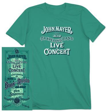 John Mayer Tinley Park, IL Event T-Shirt