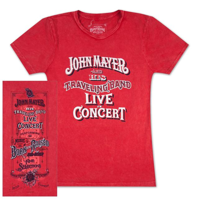 John Mayer Irvine, CA Ladies Event T-Shirt