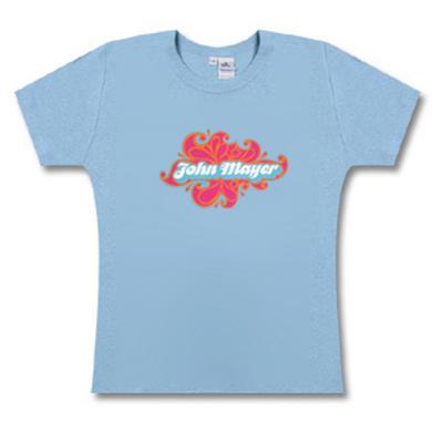 John Mayer Blue Retro T-Shirt