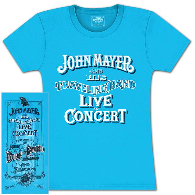 John Mayer Chicago Ladies Event T-Shirt