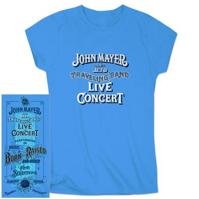 John Mayer Mansfield Ladies Event T-Shirt