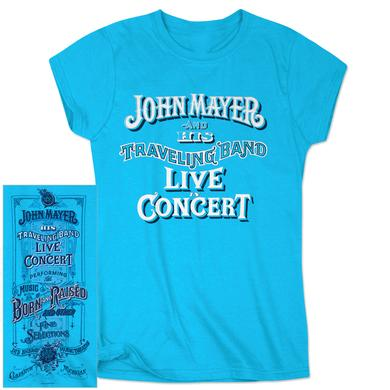 John Mayer Clarkston, MI Ladies Event T-shirt