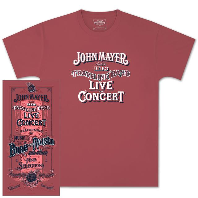 John Mayer Philadelphia Event T-shirt