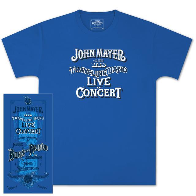 John Mayer Jones Beach Event T-shirt