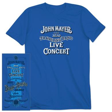 John Mayer Jones Beach Event T-shirt