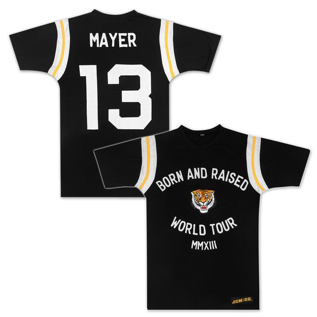 John Mayer Tiger World Tour Football Jersey